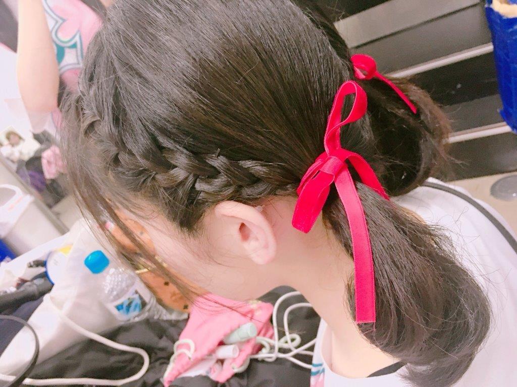 体育祭 髪型 ポニーテール アレンジ