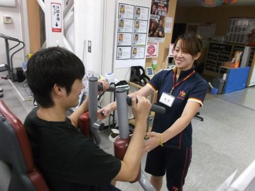 スポーツを通じて二人三脚で頑張る人をサポートする「スポーツトレーナー」