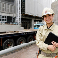 建設の仕事をする女性が増えている!? 25歳の「けんせつ小町」に密着!