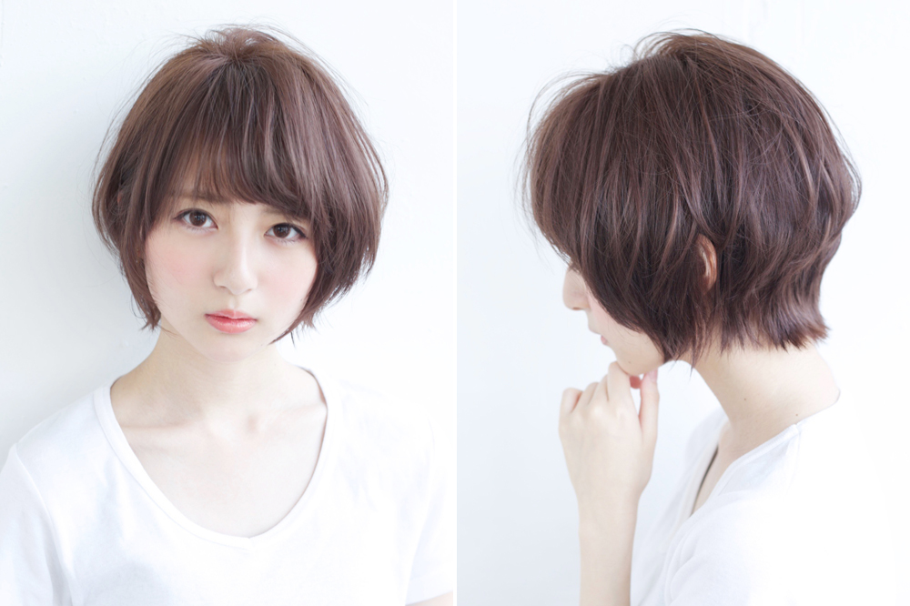 ロング ミディアム ショート 小顔効果抜群の最新ヘア 前髪はコレ