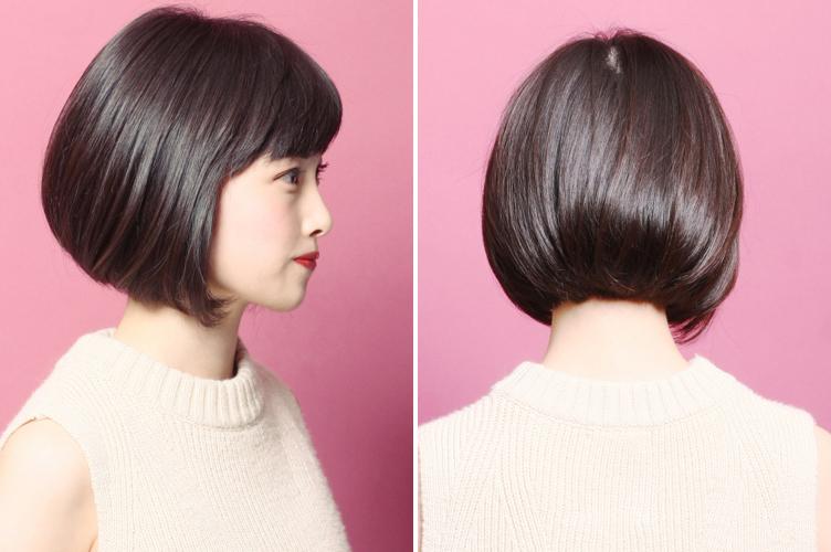 ロング、ミディアム、ショート、小顔効果抜群の最新ヘア&前髪は