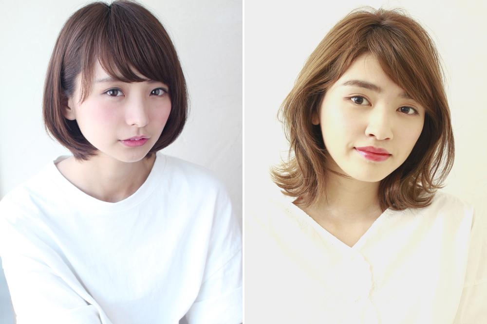 小顔効果抜群の最新ヘア&前髪はコレ!女子高生髪型お悩みQ&A