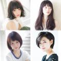 ロング、ミディアム、ショート、小顔効果抜群の最新ヘア&前髪はコレ!女子高生髪型お悩みQ&A