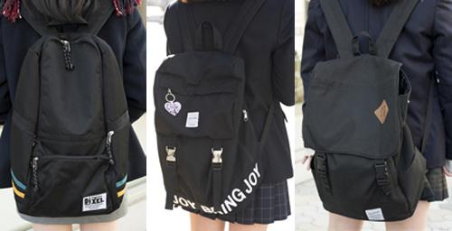 高校生ファッションのキモ、制服&私服でも使うリュックは「大きさ」と「デザイン」の両方を重視!