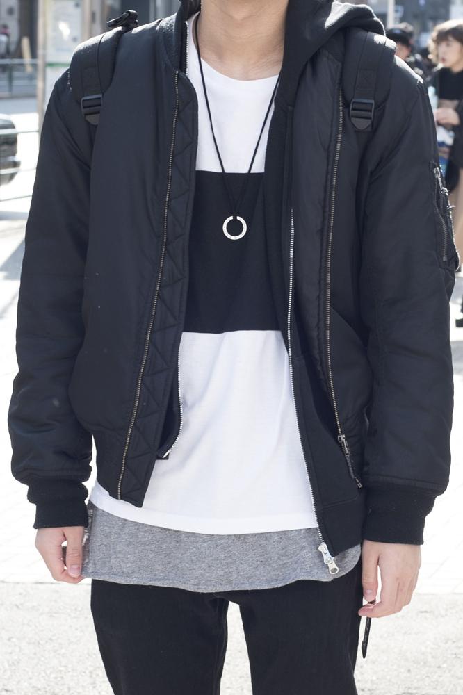 男子 高校生 ファッション 冬