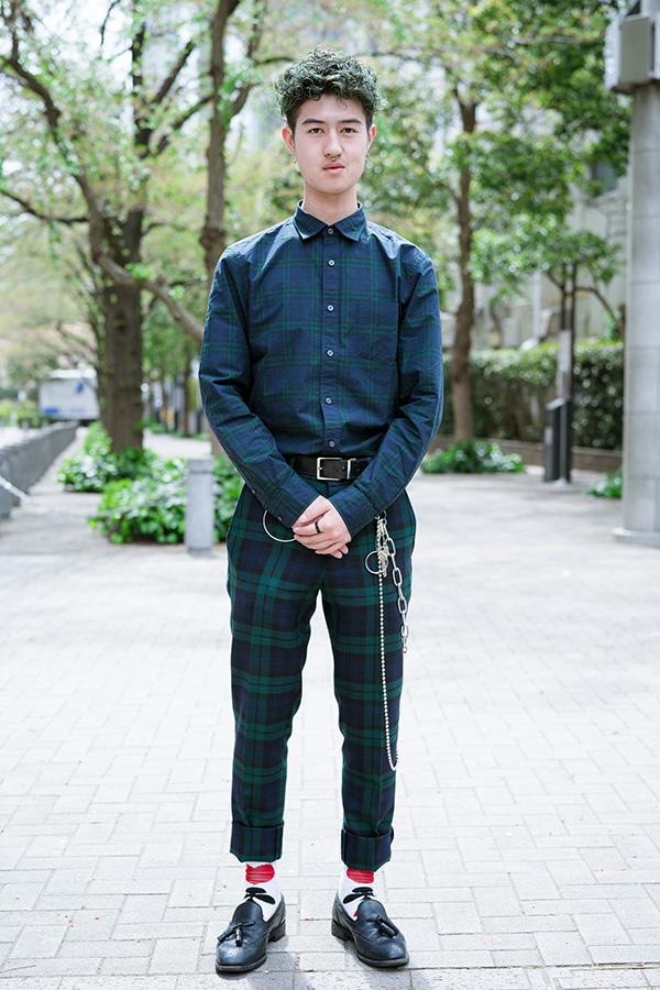 ファッションのお手本はHIYADAMさんです!