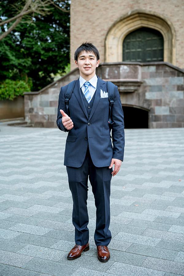 式 スーツ 入学 大学生