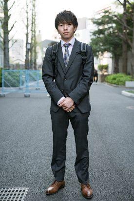 大学・専門学校の新入生を直撃!入学式スナップ【スーツ編】