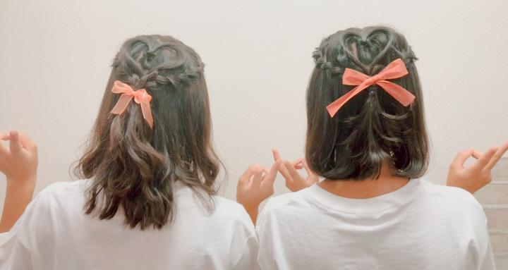 文化祭でやりたい髪型20選!可愛いおそろいの髪型【高校生なう