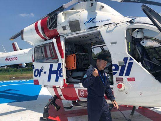 どんなときも冷静に安全運航するドクターヘリのパイロット