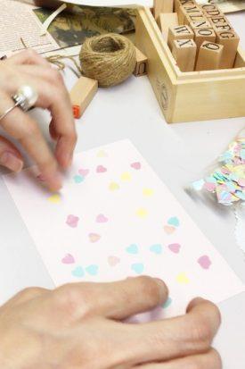 かわいいメッセージカードの作り方
