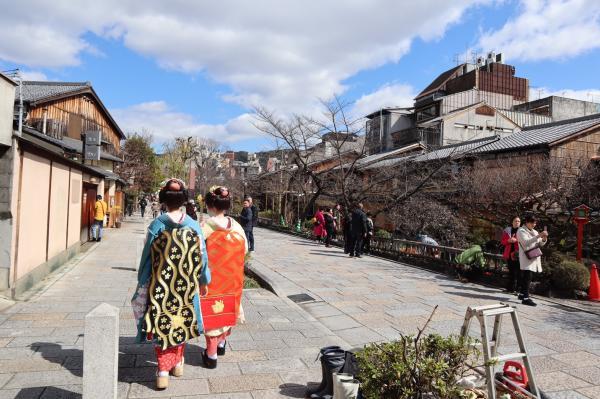 卒業旅行は京都へ