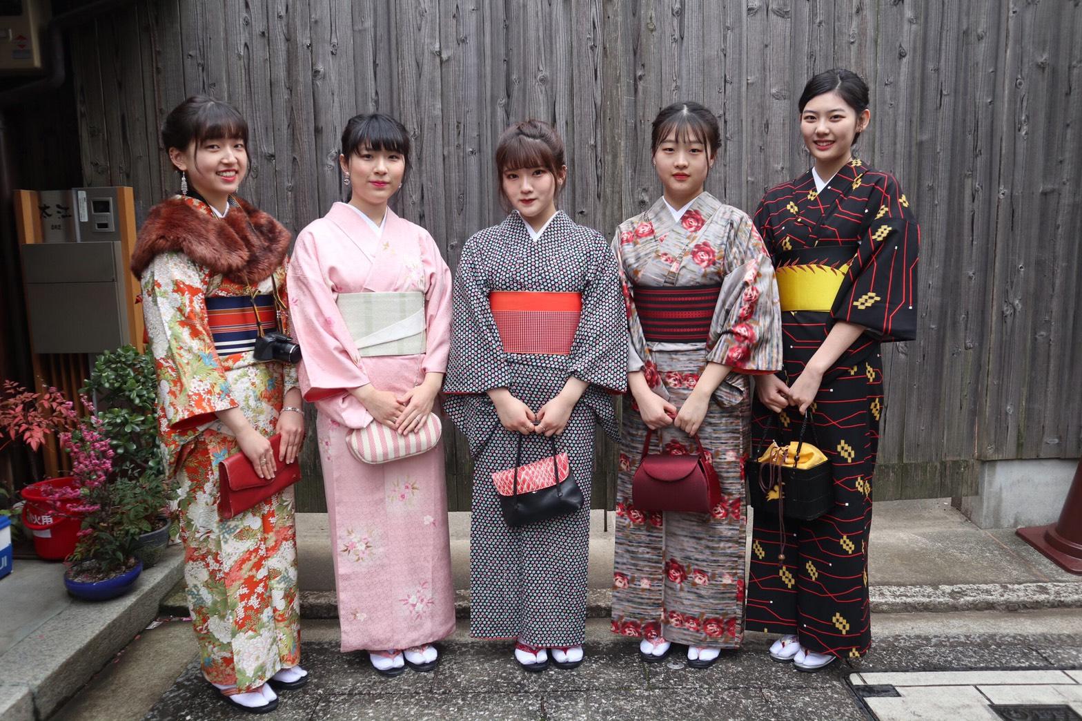 卒業旅行は日本らしさを味わいたくて京都へ