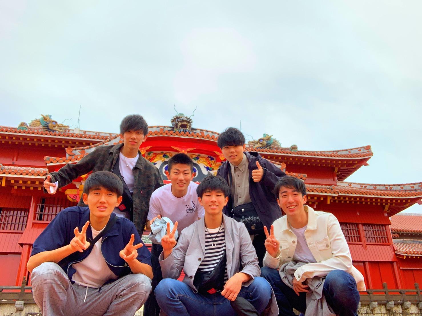 男6人で沖縄旅行なんて、高校の卒業旅行しかできないかも?