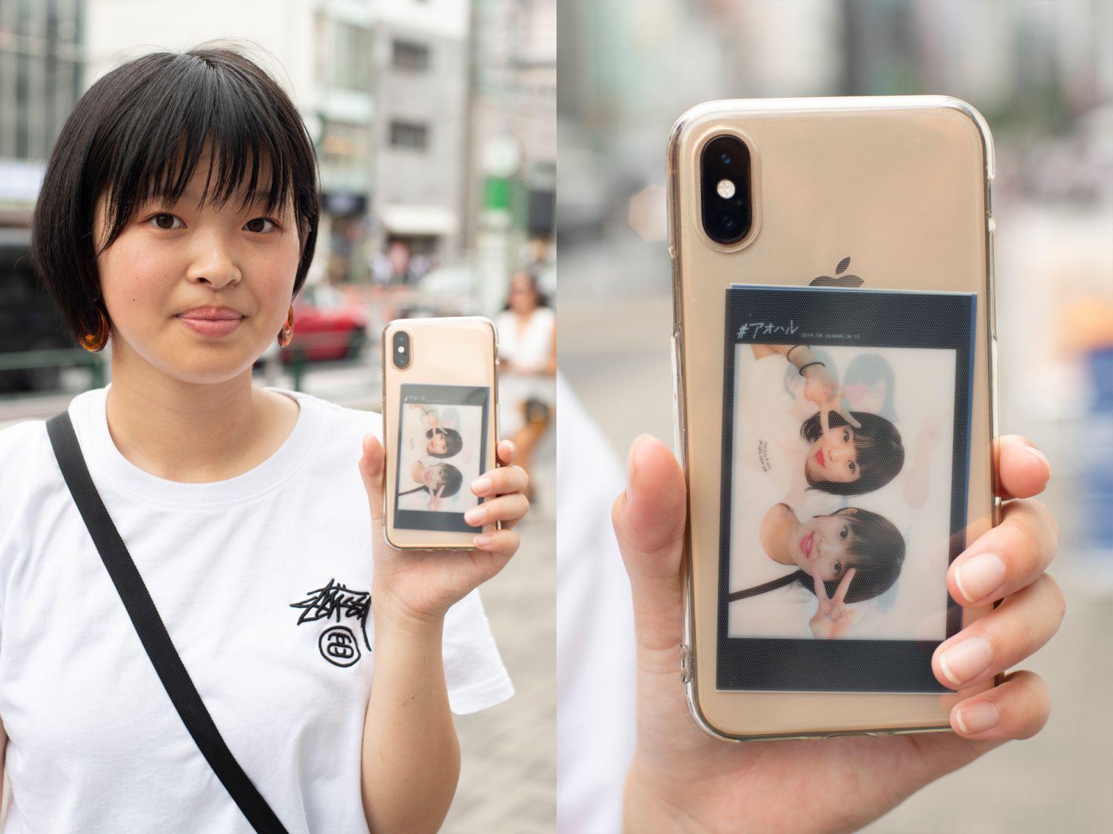 人気のスマホケース【透明ケース(アレンジあり)】プリクラや写真で手軽にカスタマイズ!