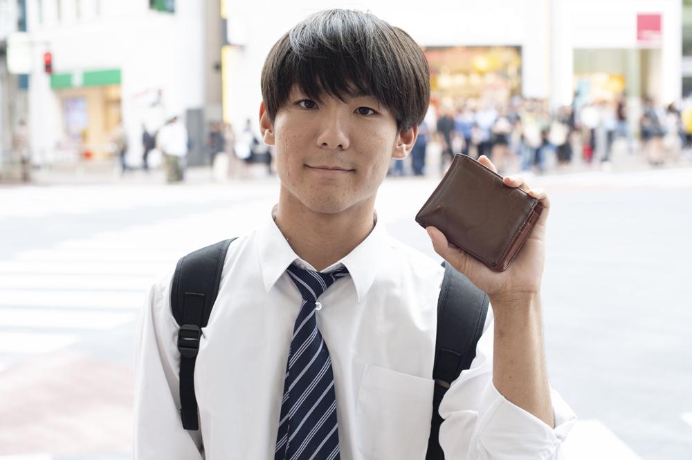 【二つ折り財布】コンパクトなサイズが男女共に大人気!