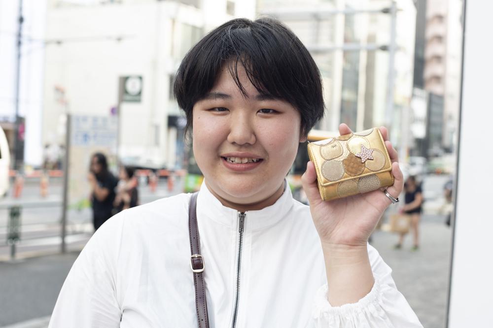 【個性派のお財布】