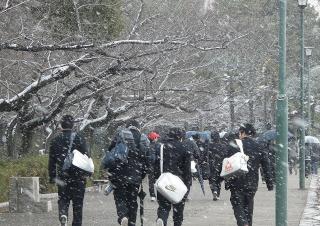 大学入試直前&当日のトラブルQ&A【雪・大雨・悪天候編】