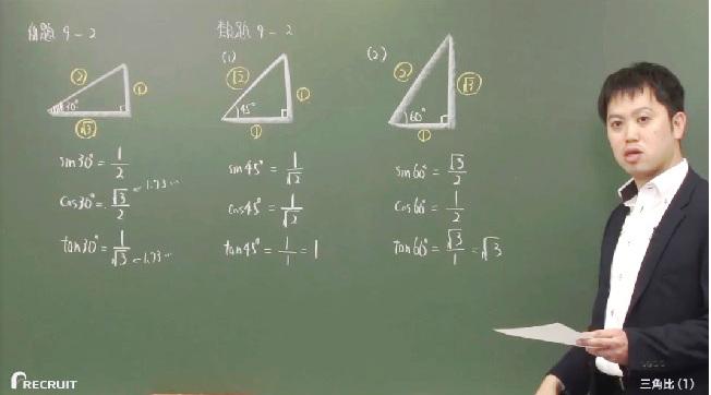 sin・cos・tan、三角比・三角関数の基礎をスタサプ講師がわかりやすく解説!