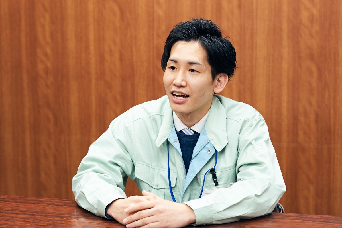 区役所 土木技術員 山本さん