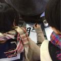 高校生が渋谷で書き初め! 2015年の目標を漢字一文字で表わすと?