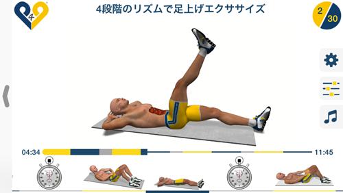 腹部トレーニング