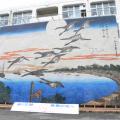 10m超えの巨大な貼り絵にびっくり!拝島高校の文化祭に潜入!