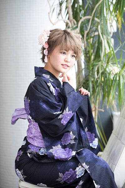 花火大会でキメる 浴衣に似合うヘアアレンジ ショート編