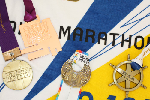 走れるのは高校生だけ!? 東京マラソン10kmで金メダルをGET!